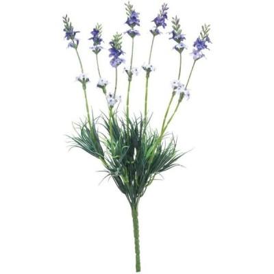 ラベンダーブッシュ ラベンダー 12本セット FB-2357 2020ds   アレンジメント アートフラワー 花資材 造花 花束 ブーケ ブッシュ ラベンダー