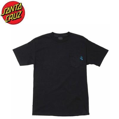 SANTA CRUZ Pocket Hand Pocket SS Tee BLACK サンタクルーズ 半袖Tシャツ ポケットブラック 19h