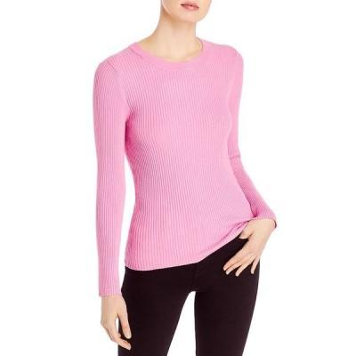 525アメリカ レディース ニット・セーター アウター Narrow Ribbed Pullover Sweater