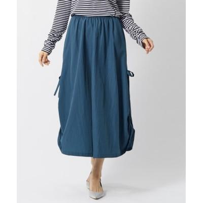【大きいサイズ】 シャーリングデザインロング丈スカート(オトナスマイル) スカート, plus size skirts
