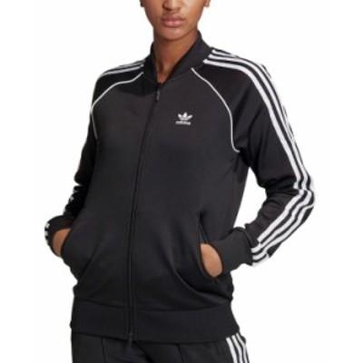 アディダス レディース ジャケット・ブルゾン アウター Women's Superstar Track Jacket Black/white