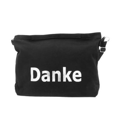 【バックヤードファミリー】 Danke 帆布ショルダーバッグ レディース ブラック系1 ショルダーバッグ BACKYARD FAMILY