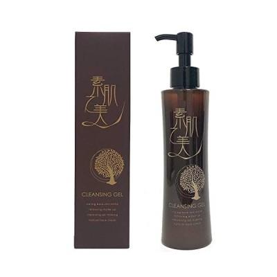 素肌の美 クレンジングジェル 11種類の 無添加 スーパーヒアルロン酸配合 美容皮膚科クリニック採用 180ml