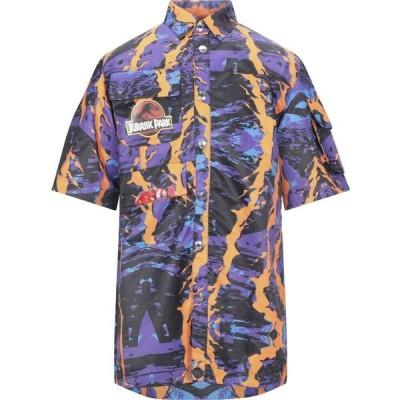 ジーシーディーエス GCDS メンズ シャツ トップス Patterned Shirt Purple