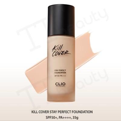 [CLIO]クリオキルカヴァーステーパーフェクトファンデーション/kill cover stay perfect foundation/SPF50+PA/TTBEAUTY/韓国
