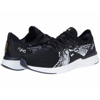 Ryka ライカ レディース 女性用 シューズ 靴 スニーカー 運動靴 Momentum 2.0 Black/White【送料無料】