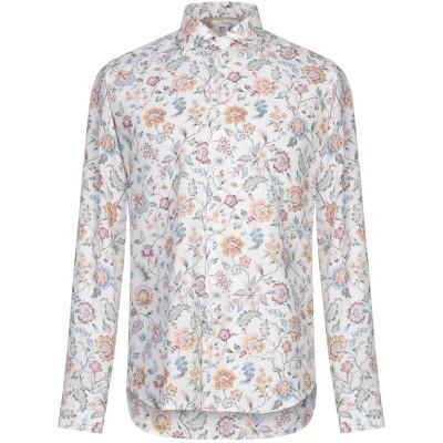 TINTORIA MATTEI 954 シャツ ホワイト 43 リネン 55% / コットン 45% シャツ
