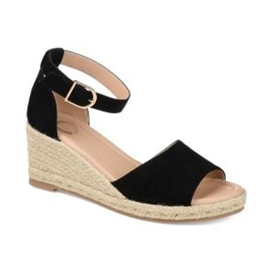 ジャーニーコレクション レディース サンダル シューズ Women's Keana Wedge Sandal Black