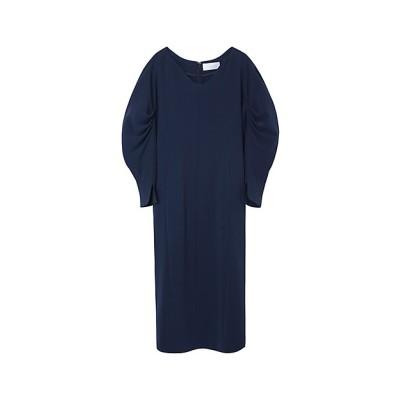 <Mame Kurogouchi(Women)/マメ クロゴウチ> Classics Curve-Shaped Dress BLUE【三越伊勢丹/公式】