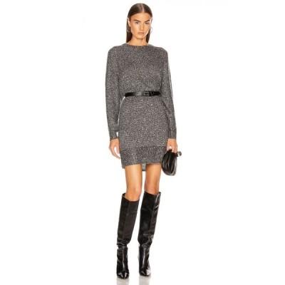 フレーム FRAME レディース ワンピース ワンピース・ドレス sequin sweater dress Smoke Heather