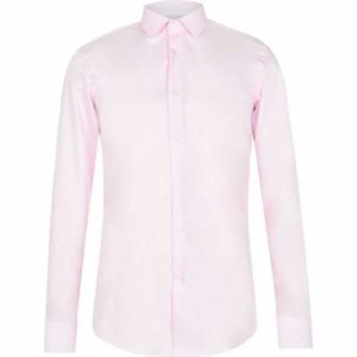 ヒューゴ ボス Boss メンズ シャツ トップス Jesse Poplin Shirt Pink