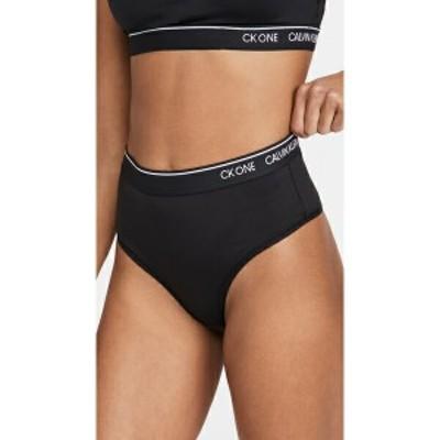 (取寄)カルバンクライン アンダーウェア レディース CK ワン ミクロ ハイ ウェスト トング Calvin Klein Underwear Women's CK One Micro