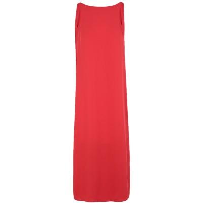 ALICE MILLER 7分丈ワンピース・ドレス レッド 46 ポリエステル 100% 7分丈ワンピース・ドレス