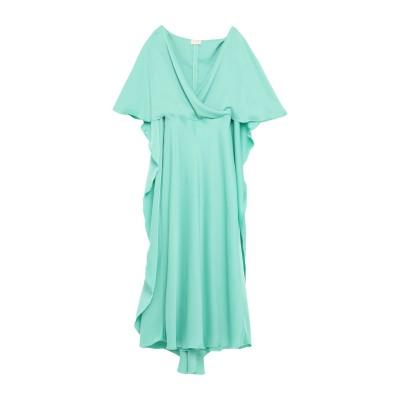 ALEX VIDAL 7分丈ワンピース・ドレス グリーン 36 ポリエステル 100% 7分丈ワンピース・ドレス