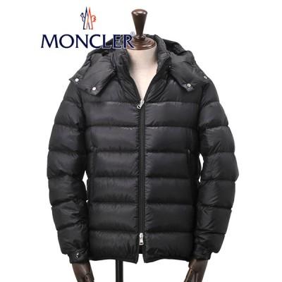 モンクレール MONCLER メンズ ダウンジャケット VERTE 裏裾にロゴプリント 薄手 ライトアウター ブラック DOUDOUNE ブランド