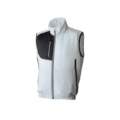 アタックベース:空調風神服ベスト グレー L 060