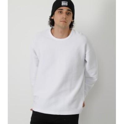 【70%OFF】 TACK BORDER BIG LONG TEE/タックボーダービッグロングTシャツ MENSメンズ