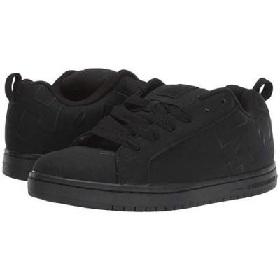ディーシーシュー Court Graffik TX メンズ スニーカー 靴 シューズ Black/Black