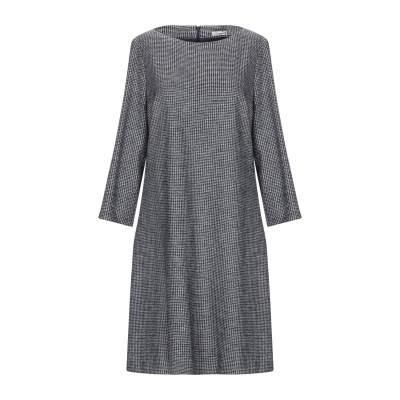 CAPPELLINI by PESERICO ミニワンピース&ドレス 鉛色 42 ウール 51% / コットン 49% ミニワンピース&ドレス