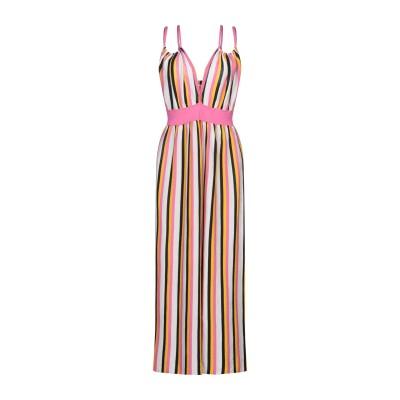 サンシックスティエイト SUN 68 ロングワンピース&ドレス ピンク M コットン 100% ロングワンピース&ドレス