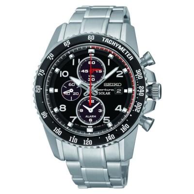 腕時計 セイコー SEIKO SSC271P1,Men's Sportura SOLAR,Alarm CHRONOGRAPH,NEW,date,100m WR,SSC271