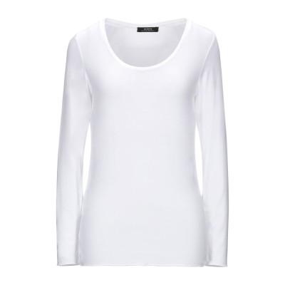 ALPHA MASSIMO REBECCHI T シャツ ホワイト 46 95% レーヨン 5% ポリウレタン T シャツ