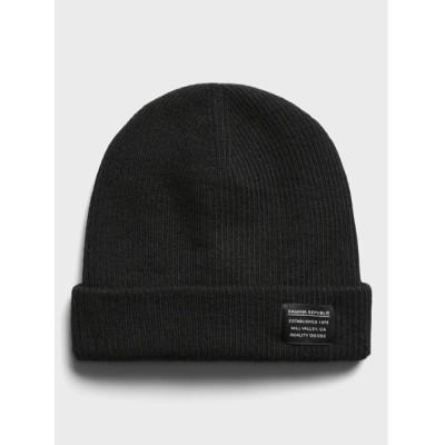 BANANA REPUBLIC / ウォッシャブル メリノ ビーニー MEN 帽子 > ニットキャップ/ビーニー