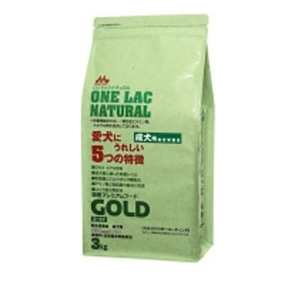 森乳サンワールドONE LAC(ワンラック)犬用 ナチュラルNEWゴールド 国産 3kg 1個 森乳サンワールド