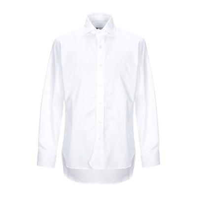 DOPPIAA シャツ ホワイト 41 コットン 100% シャツ