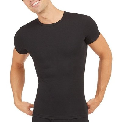 スパンク メンズ Tシャツ トップス Sculpt Crew Neck T-Shirt