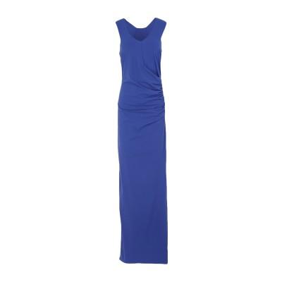 パトリツィア ペペ PATRIZIA PEPE ロングワンピース&ドレス ブルー 0 ナイロン 80% / ポリウレタン 20% ロングワンピース&