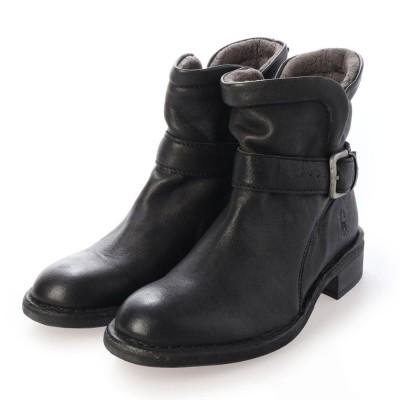 ヨーロッパコンフォートシューズ EU Comfort Shoes ショートブーツ (ブラック)
