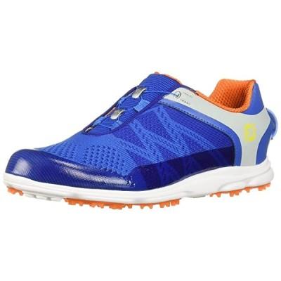 FootJoy レディース スポーツ SL ボア-Previous Season スタイル Golf シューズ ブルー 7 M オレン(海外取寄せ品)