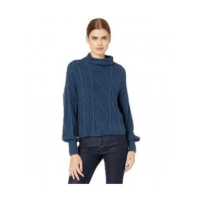 RVCA ルーカ レディース 女性用 ファッション セーター Attraction Knit Sweater - Dark Denim