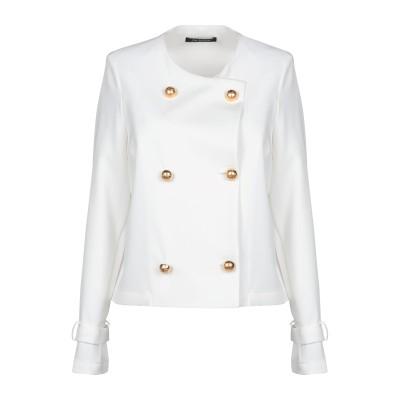 LA KORE テーラードジャケット ホワイト 46 ポリエステル 89% / ポリウレタン 11% テーラードジャケット