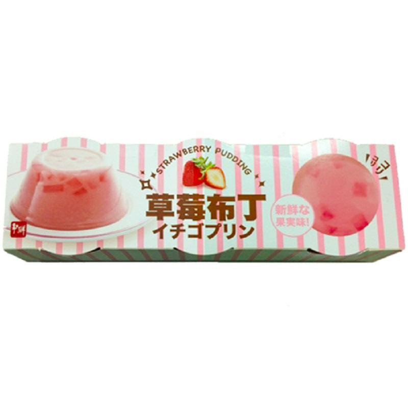 爭鮮草莓布丁