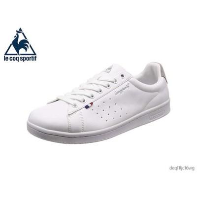 le coq sportif ルコック スポルティフ スニーカー LA ローラン SL LA ROLAND SL レディース メンズ ユニセックス ホワイト/グレー QL1LJC16WG 正規品 靴