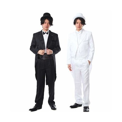 iikuru マジシャン ダークスーツ サイズ選べる コスチューム/マジック 衣装 仮装 コスプレ フルセット/メンズ