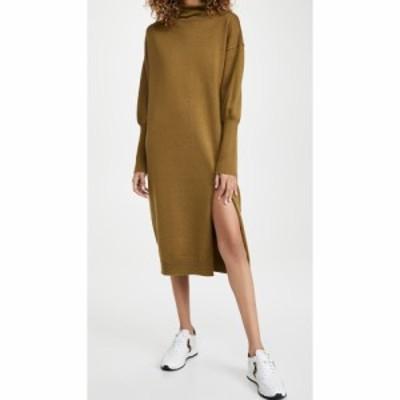 ライン アンド ドット Line and Dot レディース ワンピース ワンピース・ドレス Beverly Mock Neck Long Sleeve Dress Olive