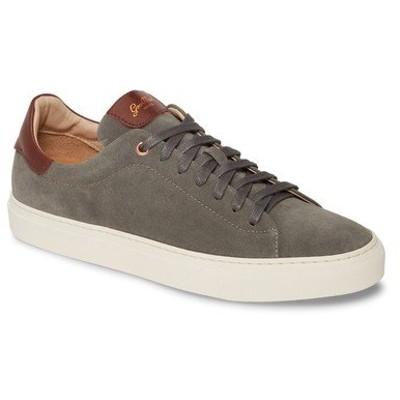グッドマンブランド スニーカー シューズ メンズ Legend Low Top Sneaker Grey/ Vachetta