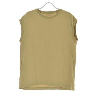 AURALEE / オーラリー A8ST07ST SEAMLESS CREW NECK SLEEVELESS シームレス クルーネック スリーブレス 半袖Tシャツ