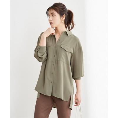 ur's / Wポケットシャツ WOMEN トップス > シャツ/ブラウス