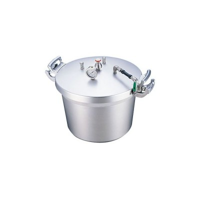 SAアルミ業務用圧力鍋(第2安全装置付) TKG 40l