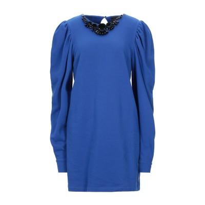 ジジル JIJIL ミニワンピース&ドレス ブルー 44 コットン 100% ミニワンピース&ドレス