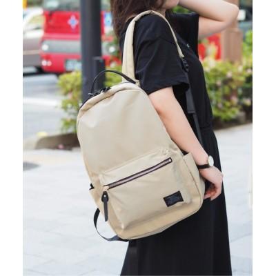 Bonjour Sagan / 【グッシオベーシック】ナイロンリュック メタルファスナー 軽量 A4対応 WOMEN バッグ > バックパック/リュック