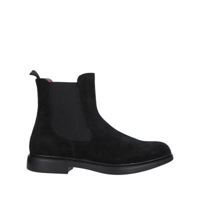 DOCKSTEPS ショートブーツ ブラック 42 革 / 伸縮繊維 ショートブーツ