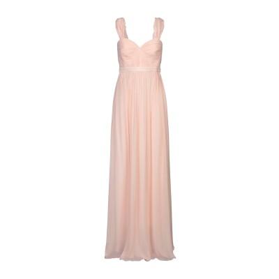 BY MALINA ロングワンピース&ドレス ライトピンク M シルク 100% ロングワンピース&ドレス