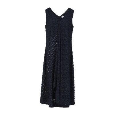 BLANCA LUZ 7分丈ワンピース・ドレス ダークブルー 46 ポリエステル 100% 7分丈ワンピース・ドレス