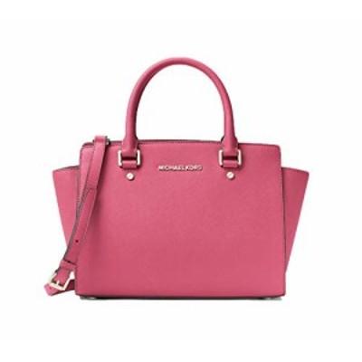 マイケルコース アメリカ 直輸入 MICHAEL Michael Kors Selma Women's Leather Satchel Handbag Pink S