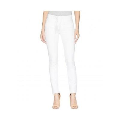 Paige ペイジ レディース 女性用 ファッション ジーンズ デニム Hoxton Ankle Peg w/ Pointed Tie + Raw Hem in Crisp White - Crisp White